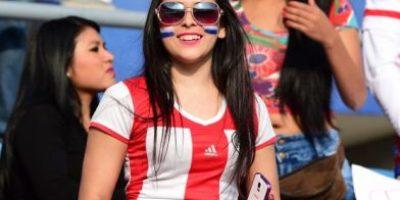 La belleza guaraní se hizo presente en el partido Paraguay vs. Jamaica
