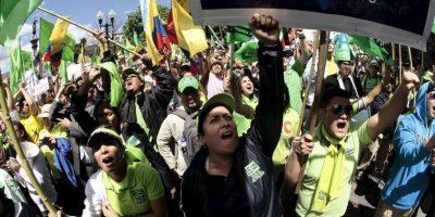 6. El presidente ha asegurado que las medidas solo afectarían a la clase rica de Ecuador, que equivale a un 2% de la población. Foto:AFP
