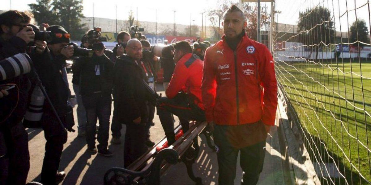 Así transcurre el caso de Arturo Vidal tras accidente automovilístico