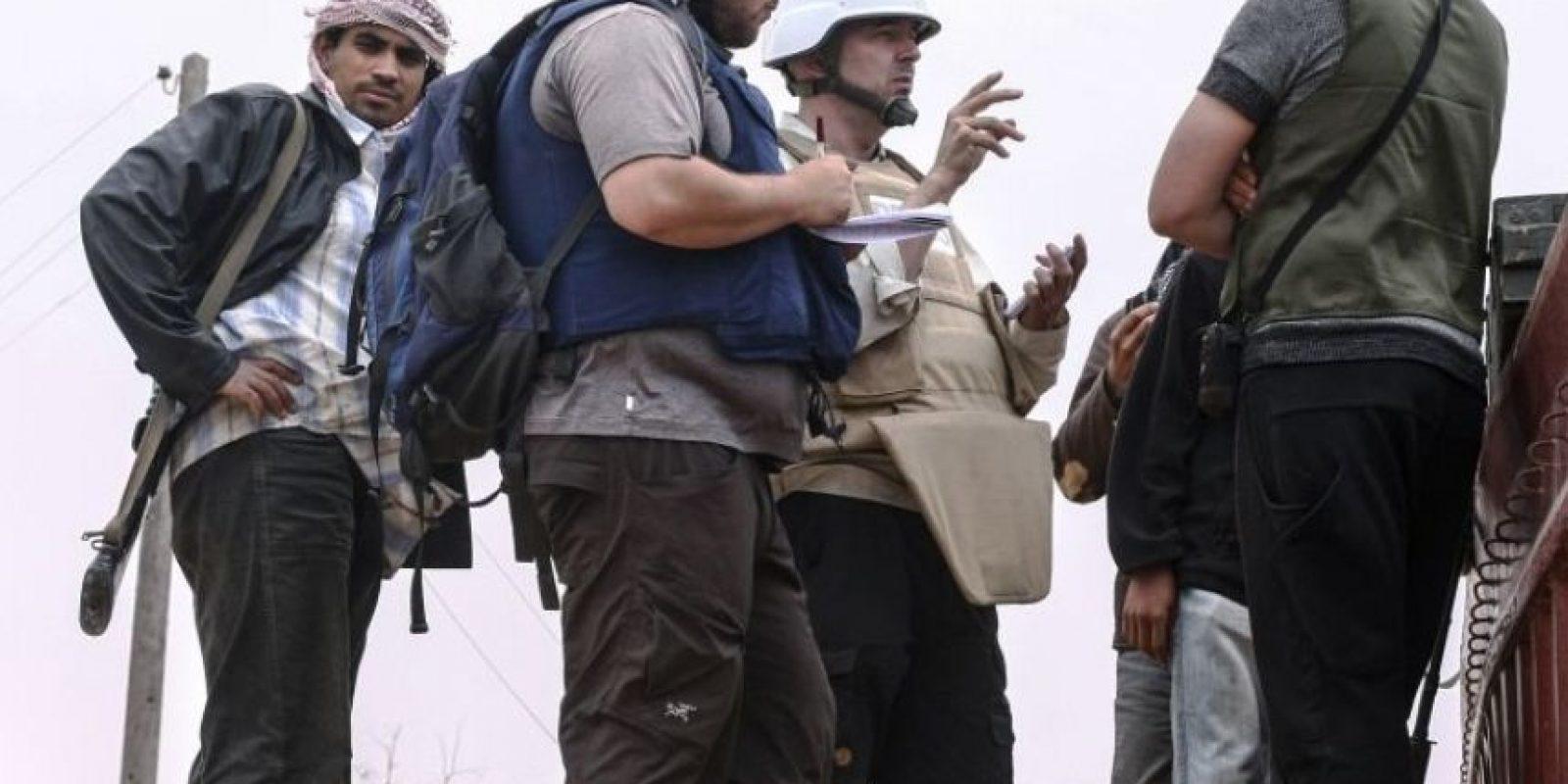 4. Otras ejecuciones en video: Posterior a la ejecución de James Foley, continuaron otros periodistas y trabajadores humanitarios como Steven Sotfloff, David Haines, Alan Henning, Peter Kassig, así como personas acusadas de ser cristianos, traidores o grupos minoritarios, como los homosexuales. Foto:Getty Images