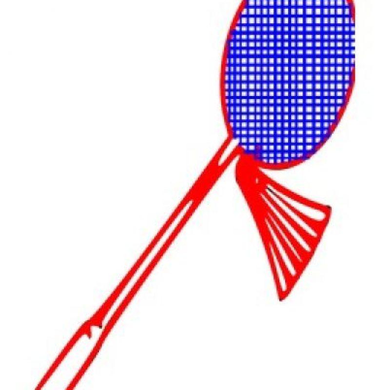 Raqueta de badmington. Foto:emojipedia.org