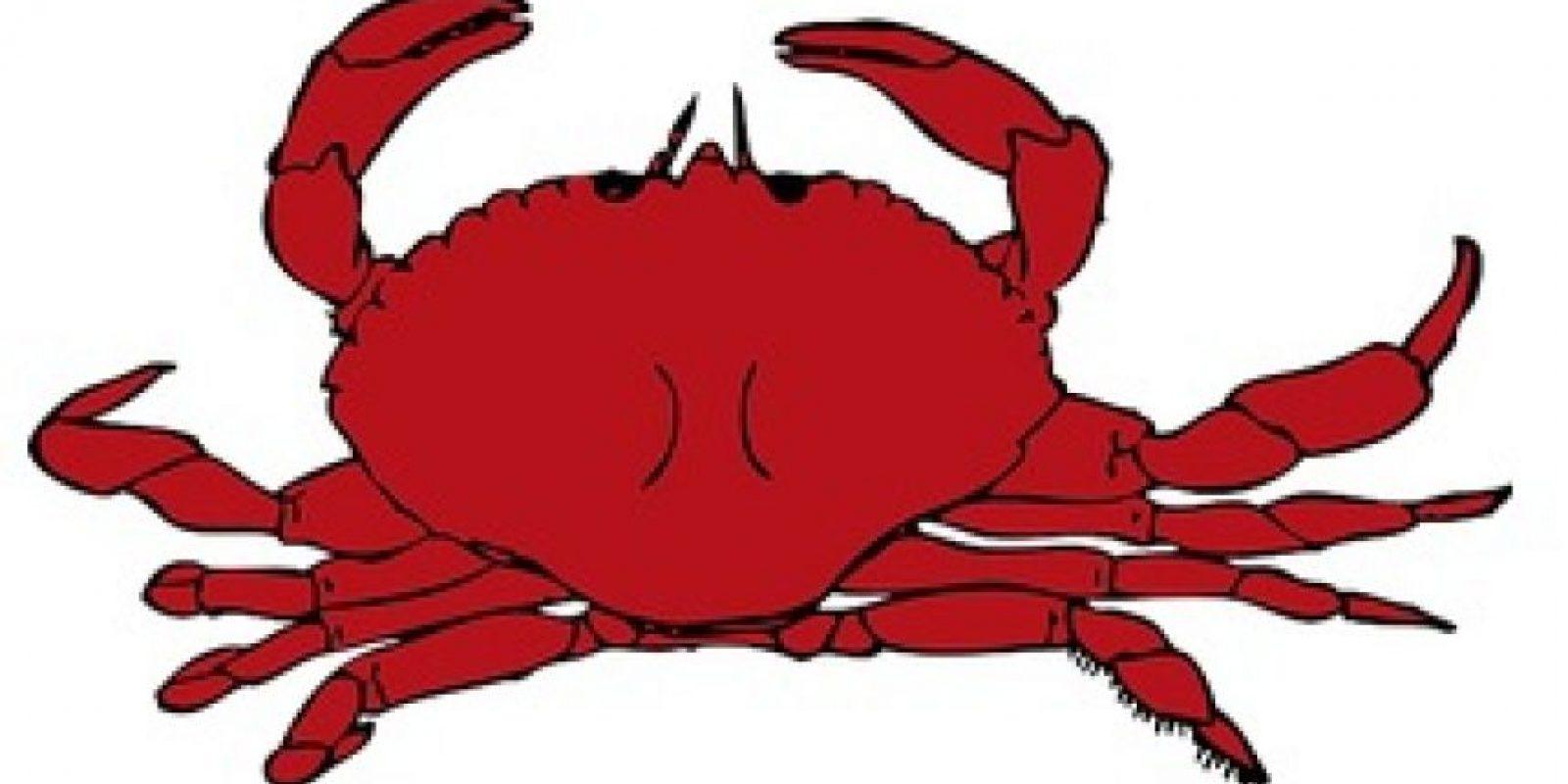 Cangrejo. Foto:emojipedia.org