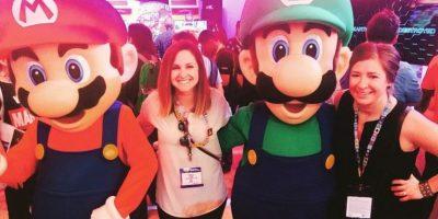 La foto con Mario y Luigi. Foto:instagram.com/ashley_farrell82
