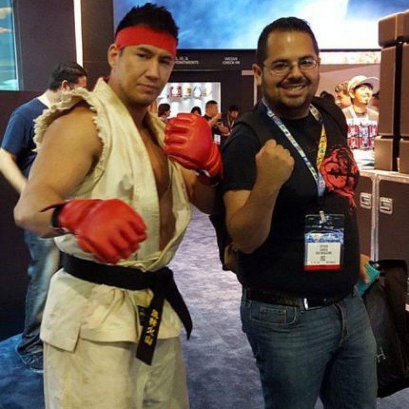 """Ryu"" posando para la cámara. Foto:instagram.com/stevenhgarcia"