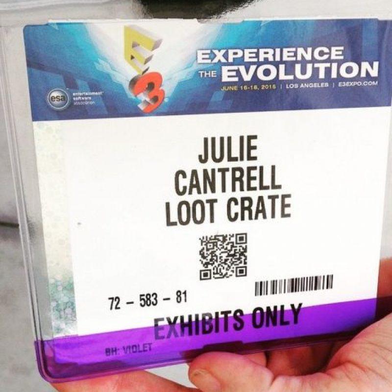 El pase para E3 2015. Foto:instagram.com/xfsista