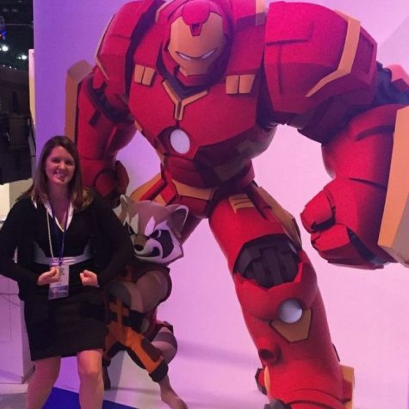 "Foto con ""Iron Man"". Foto: instagram.com/crohdster"