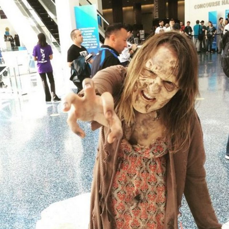 """The Walking Dead"" también apareció. Foto:instagram.com/mrstevenjohnson"
