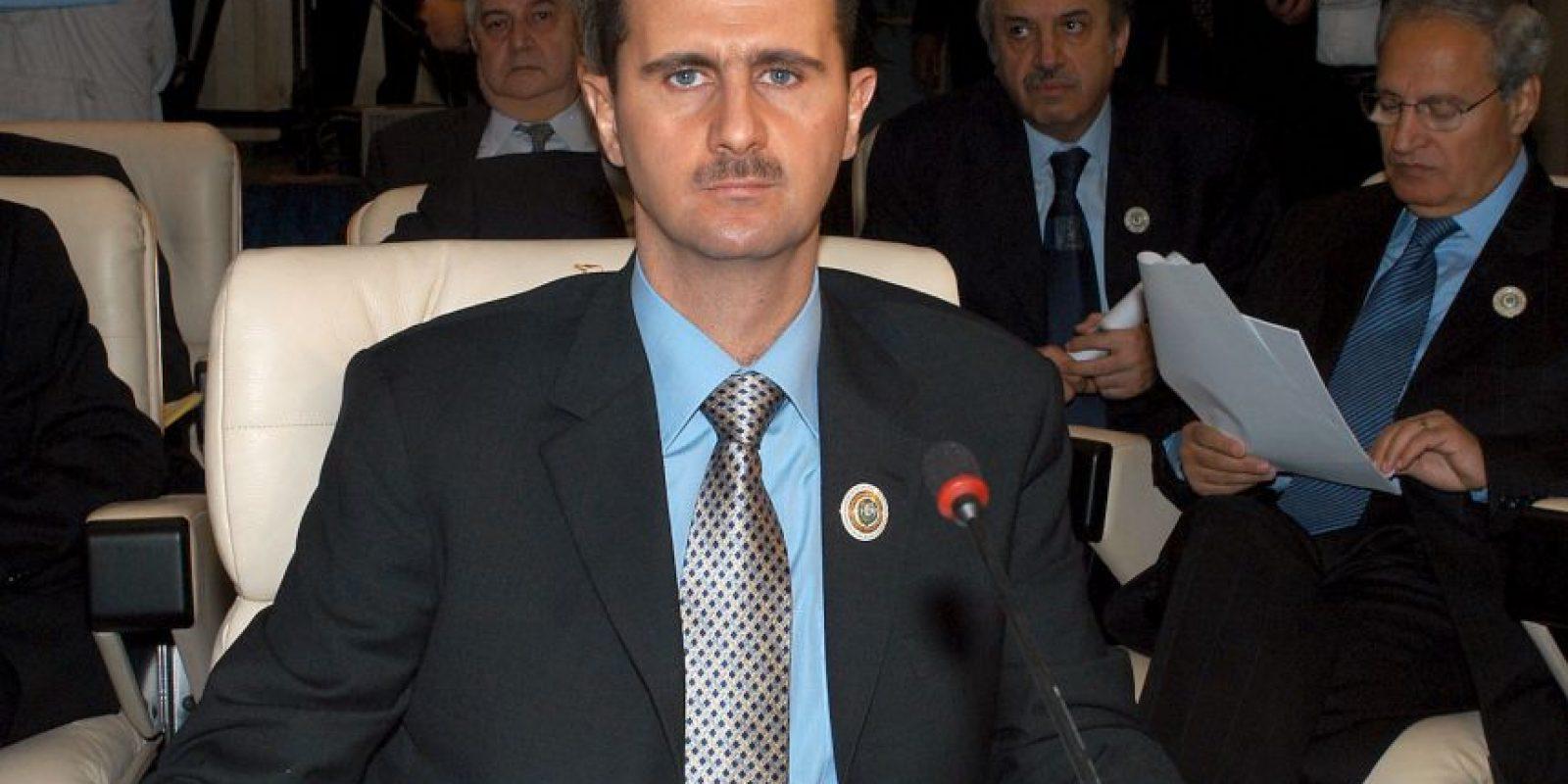 Bashar al-Assad gobierna Siria desde el 2000. Foto:Getty Images