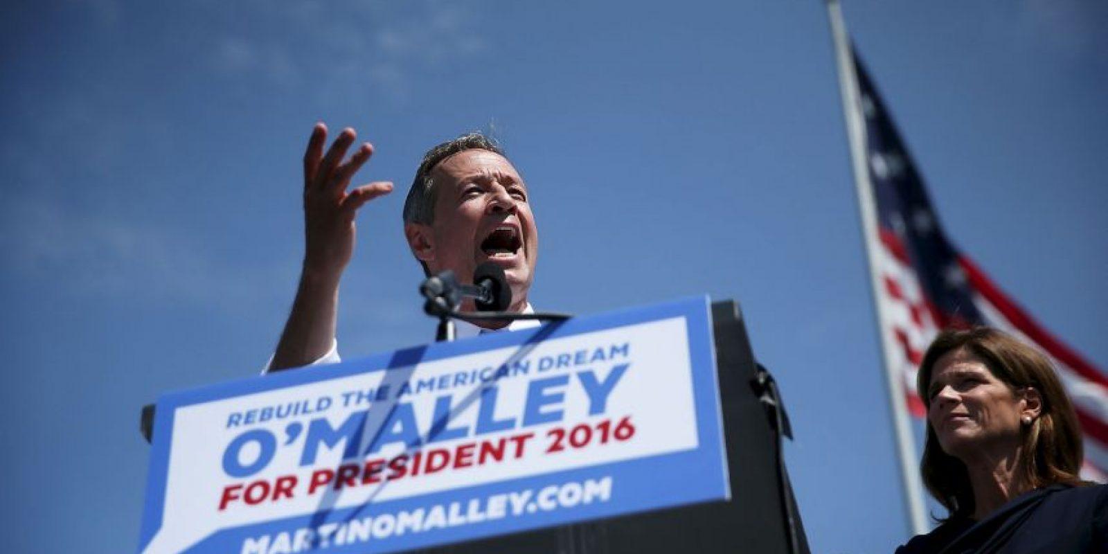 """""""Debemos salvar a nuestro país ahora. Y para hacerlo, tenemos que reconstruir el sueño"""", comentó el exgobernador de Maryland. Foto:Getty Images"""