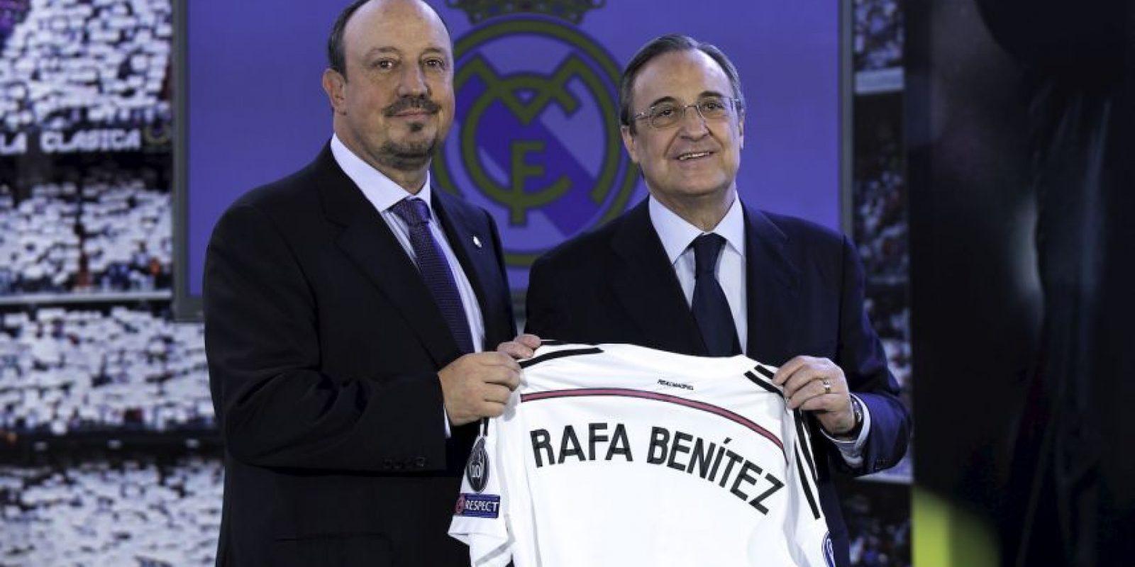 Rafael Benítez es el nuevo entrenador del Real Madrid y ya comenzó a planear la siguiente temporada. Foto:Getty Images