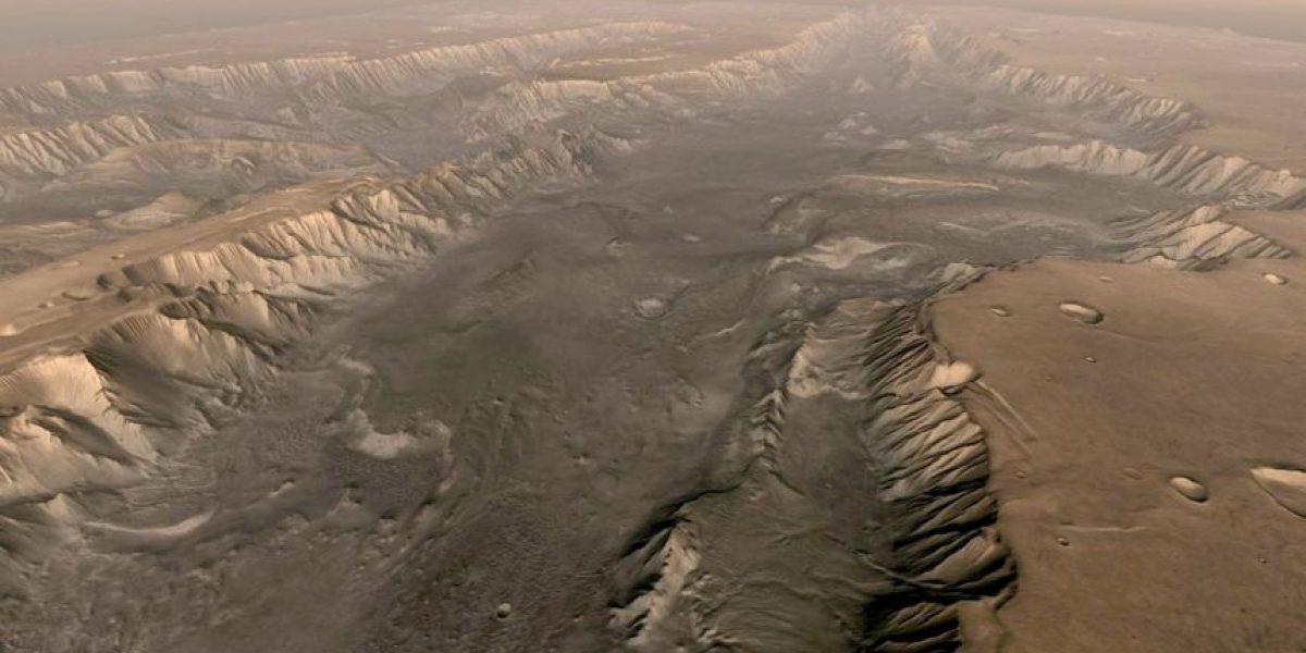 Descubren que bajo la superficie de Marte podría existir vida