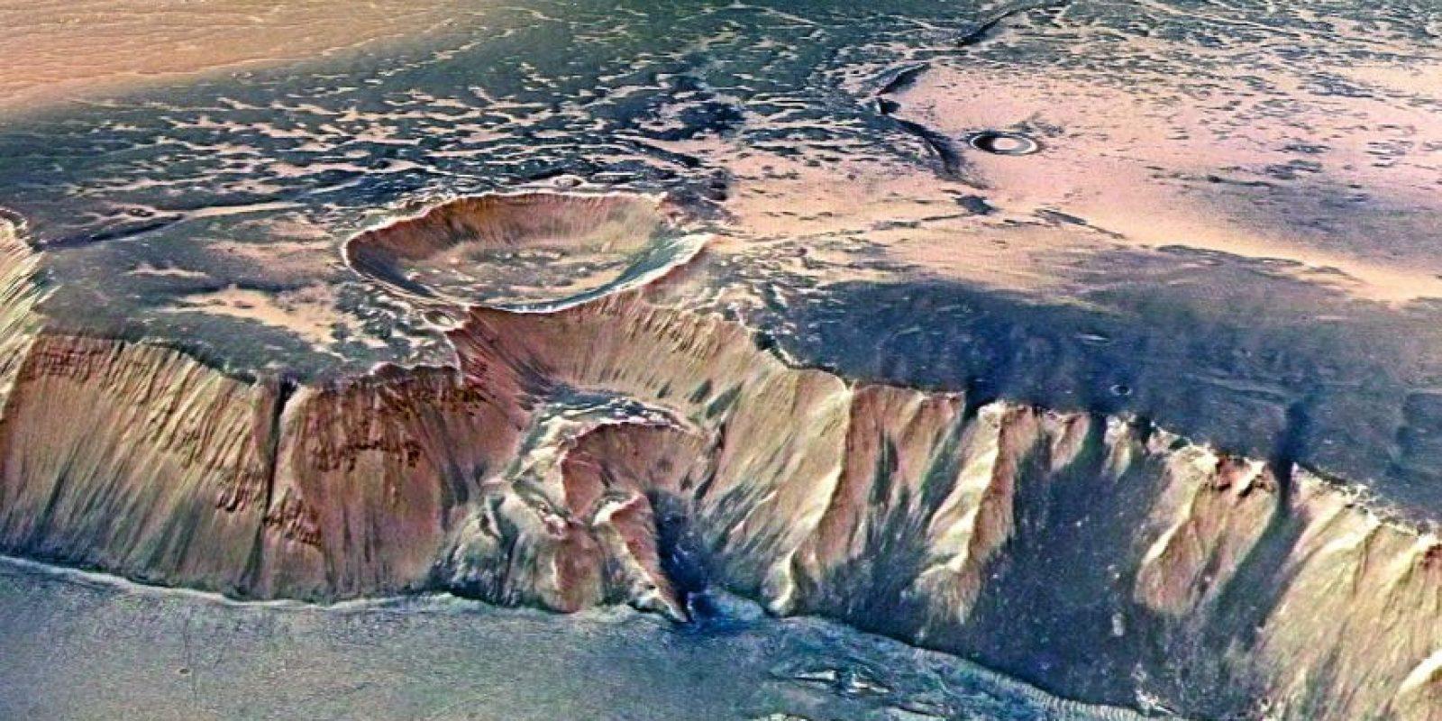 El metano en la tierra es producido por seres vivos. Foto:Getty Images
