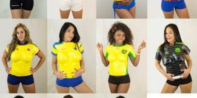 Las camisetas en yeso más atrevidas de la Copa América 2015