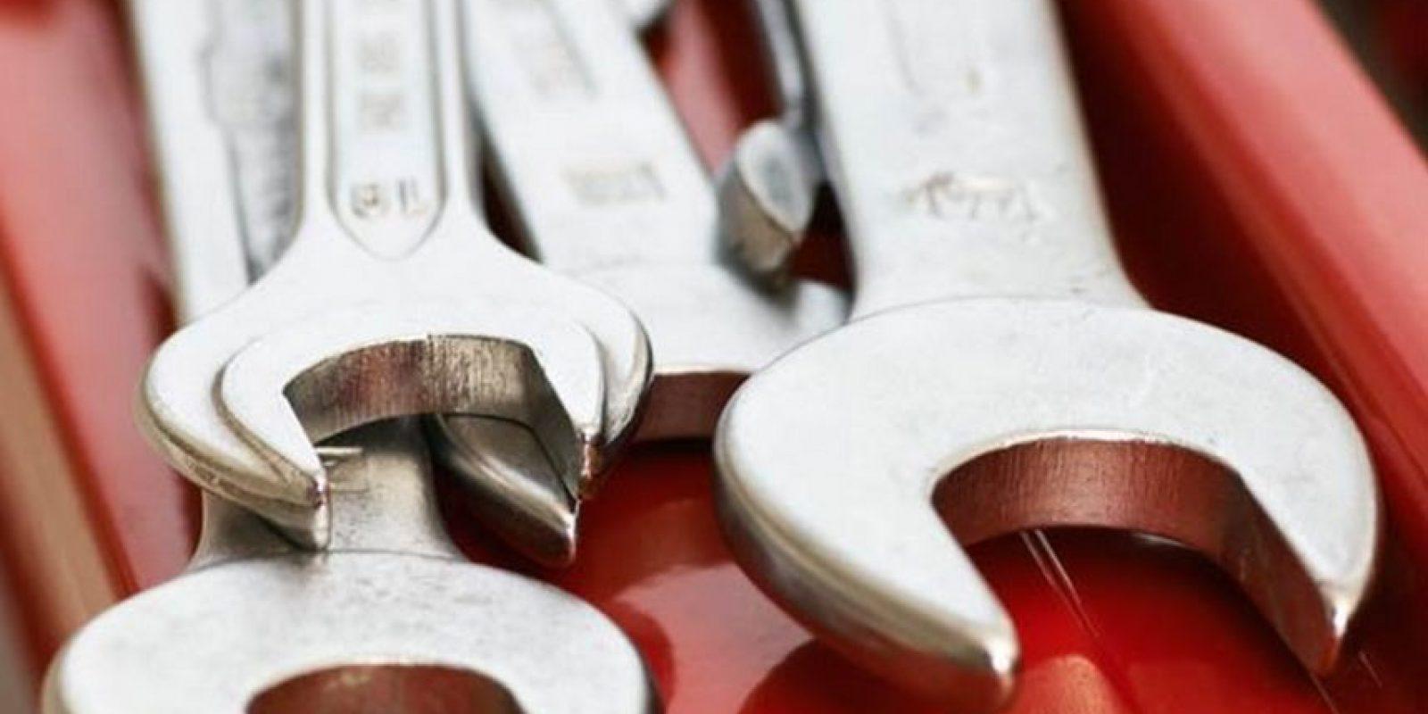 Juego de herramientas. Completamente indispensable para el papá que arregla los desperfectos del hogar. Foto:Wikicommons