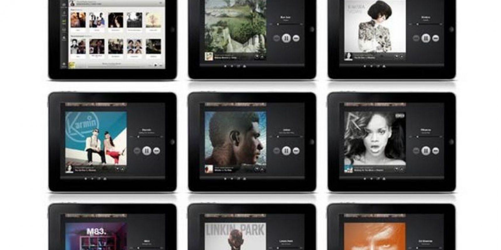 Streaming musical. Los padres amantes de la música solamente necesitarán un teléfono inteligente y bajar un par de apps para encontrar su música favorita. Foto:Wikicommons