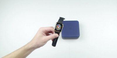 Así es como un Apple Watch de oro es destruido por dos imanes