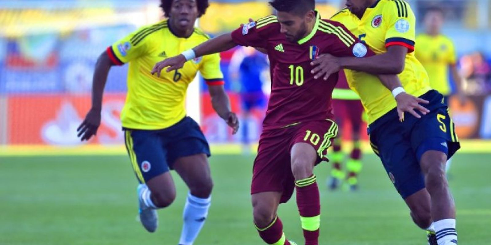 Cayó 1-0 con Venezuela Foto:AFP