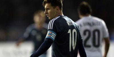 """""""La Pulga"""" confesó que le obsesiona ganar un título con la selección de Argentina Foto:AFP"""