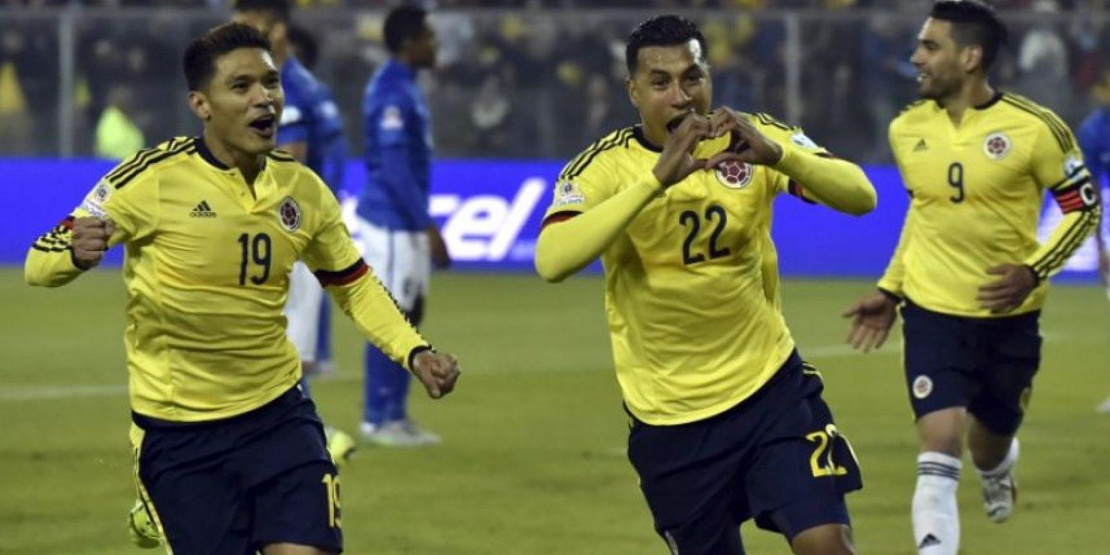 Jeison Murillo marcó el gol del triunfo Foto:AFP