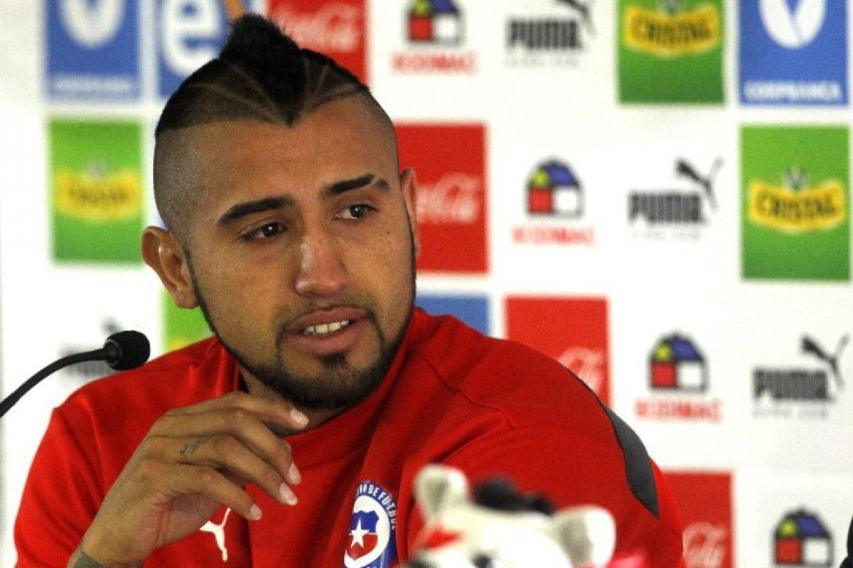 El chileno tuvo un accidente por conducir a exceso de velocidad y en estado de ebriedad Foto:AFP