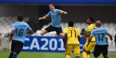Y los charrúas superaron 1-0 a Jamaica Foto:AFP
