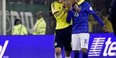 ¿Qué le dijo James Rodríguez a Neymar?