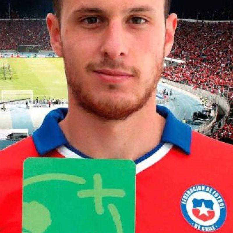 3. Ángelo Henríquez (Chile) Foto:Vía facebook.com/SeleccionChilena