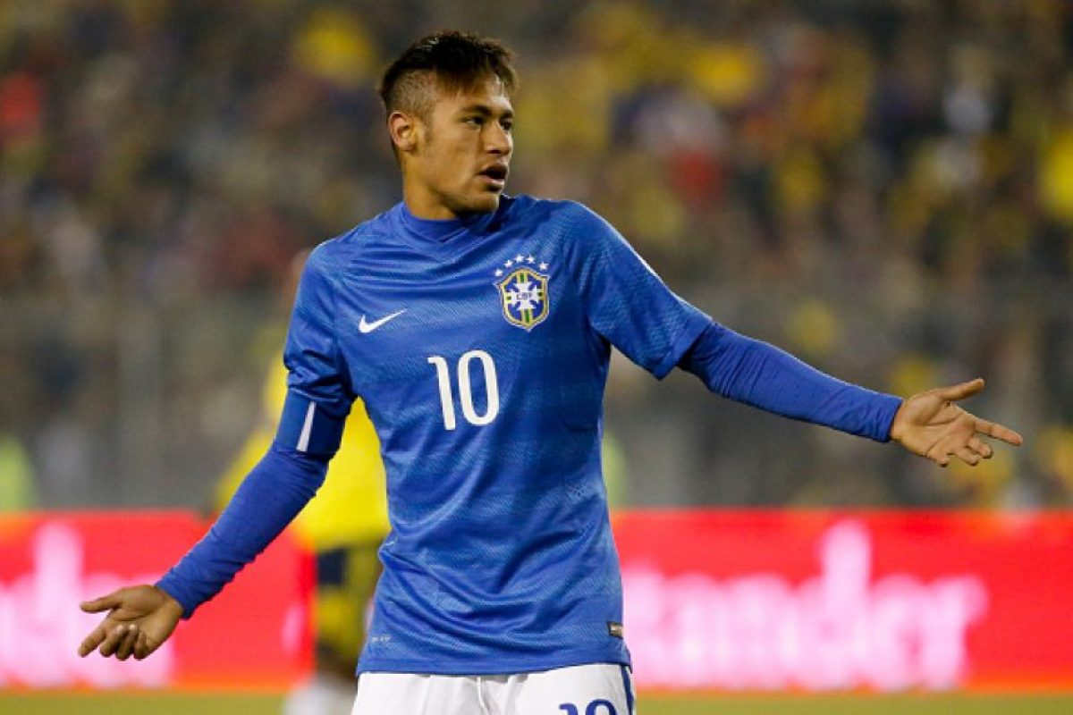 Esto lo privará de jugar con Brasil el último partido del grupo C, ante Venezuela. Foto:Getty Images