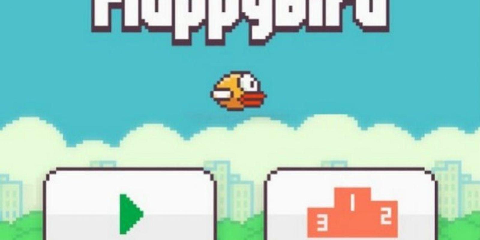 """""""Flappy Bird"""" fue uno de los juegos más populares de 2014. Foto:Twitter"""