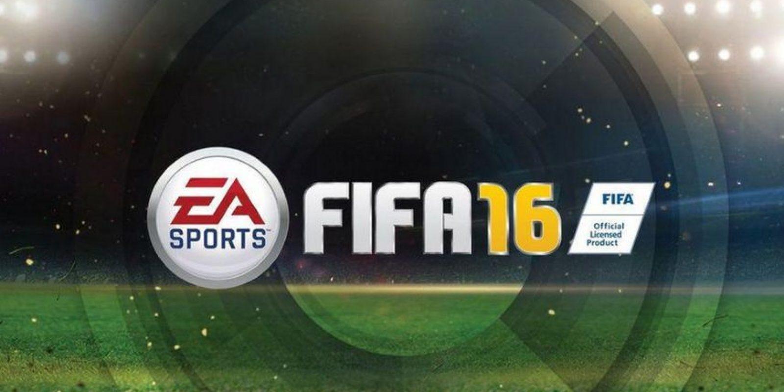 """""""FIFA 16"""" quiere ser el único rey de los videojuegos de fútbol. Foto:EA Sports"""