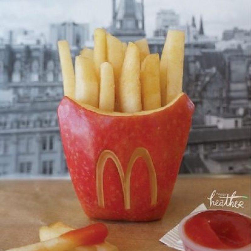 Papas fritas. Foto:instagram.com/fresheather