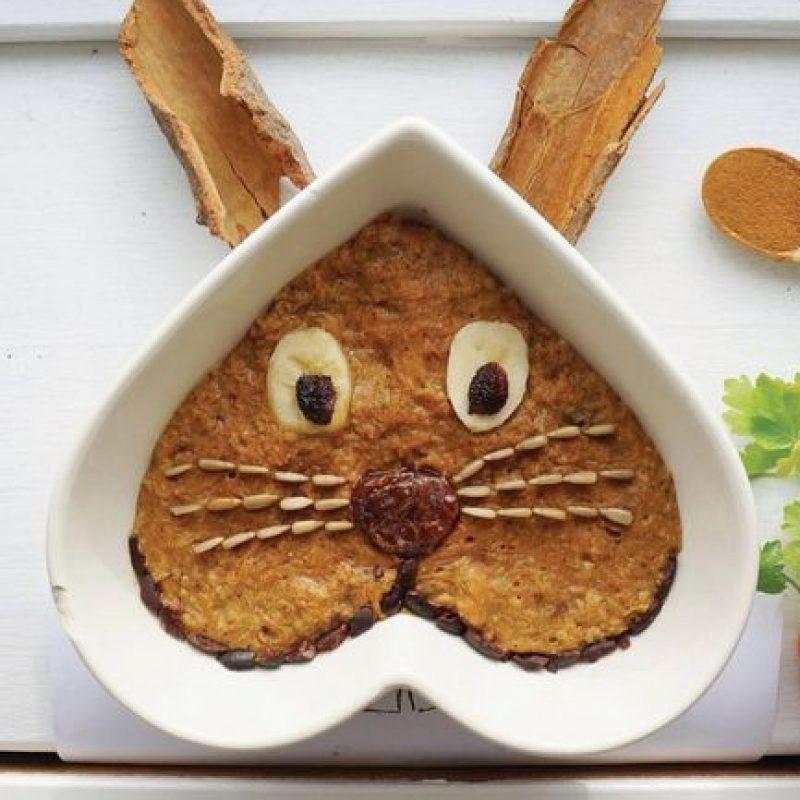 Rostro de conejo. Foto:instagram.com/fresheather