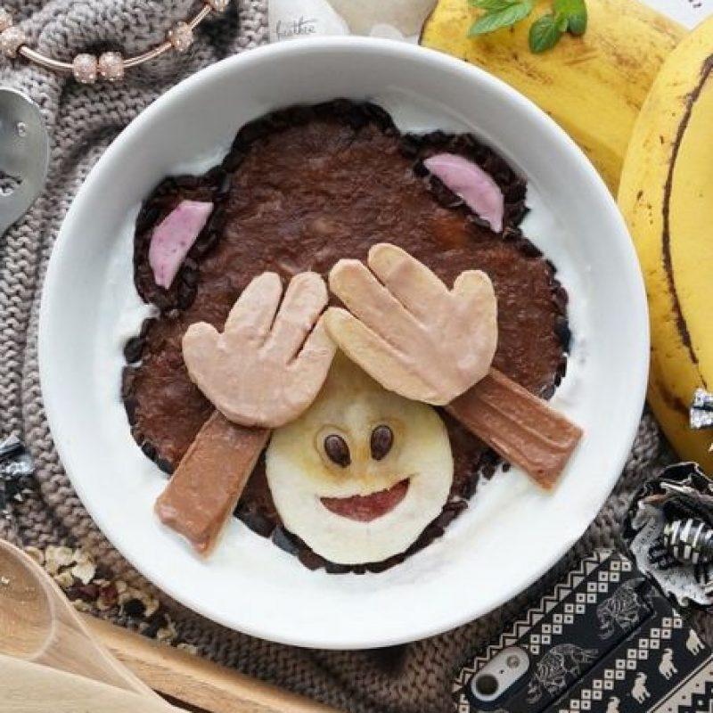 Mono con los ojos tapados. Foto:instagram.com/fresheather