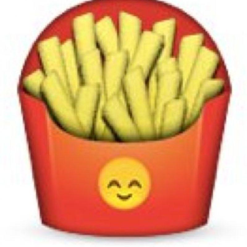 Papas fritas. Foto:emojipedia.org