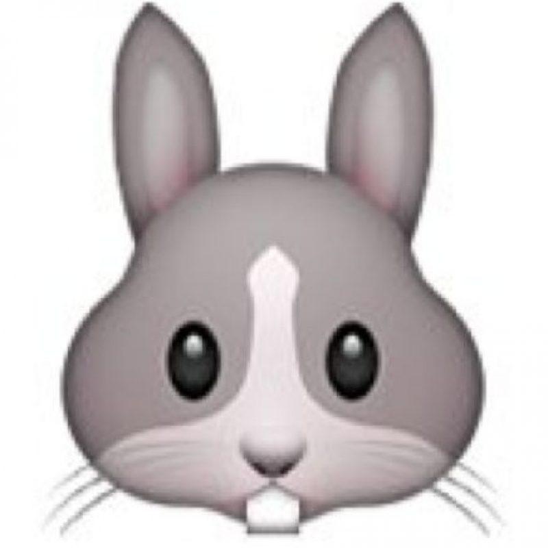 Rostro de conejo. Foto:emojipedia.org