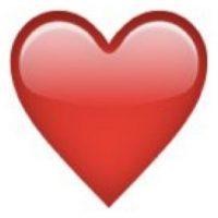 Corazón. Foto:emojipedia.org