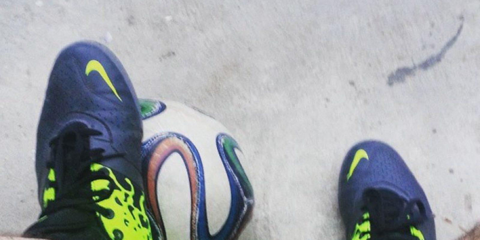 4. Balón o pelota Foto:Vía instagram.com/gustavozb10