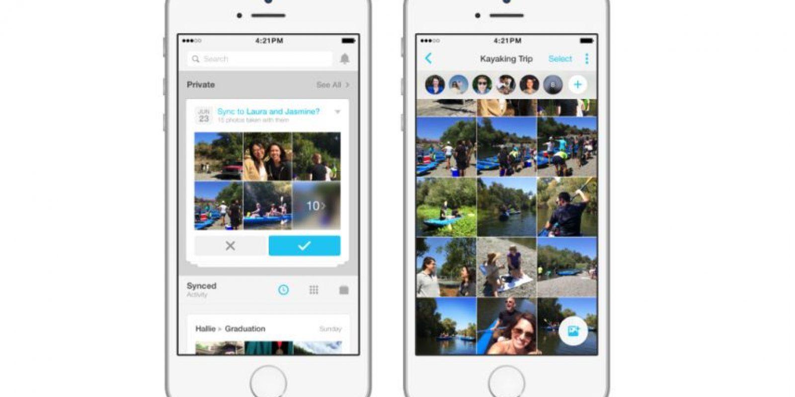 Así luce la app en iPhone Foto:Facebook