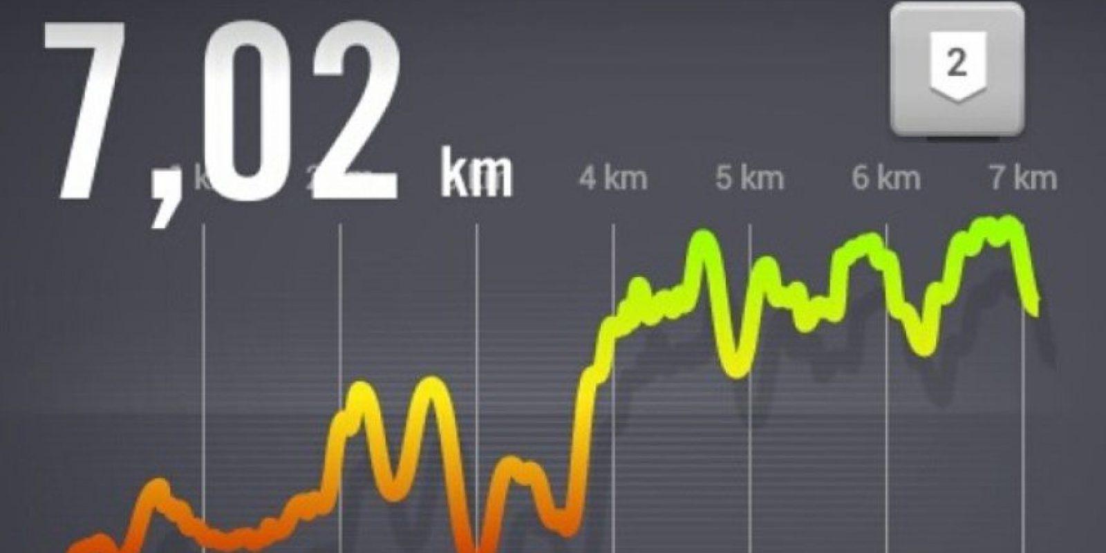 También pueden usarse para hacer ejercicio. Hay aplicaciones que te indican las rutinas que debes hacer para trabajar alguna parte del cuerpo, otras te cuentan los kilómetros recorridos y además, permiten compartir tus logros en redes sociales. Foto:Vía instagram.com/santiagoc21