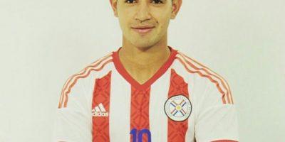Derlis es una de las mayores promesas del fútbol paraguayo. Foto:Vía instagram.com/derliskarimi25