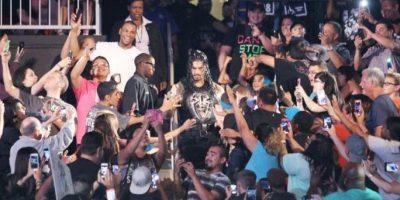 ENTREVISTA: El imponente luchador Roman Reigns se describe como un tipo hogareño