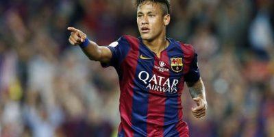 """En la final de la Copa del Rey del 30 de mayo pasado, Neymar aprovechó que el partido ya estaba resuelto para el Barça y deleitó al público con una """"jugada de fantasía"""". Foto:Getty Images"""