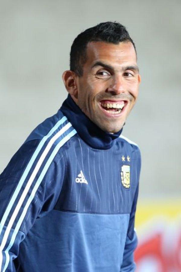Actualmente, Tévez está en Chile disputando la Copa América con Argentina. Foto:Getty Images