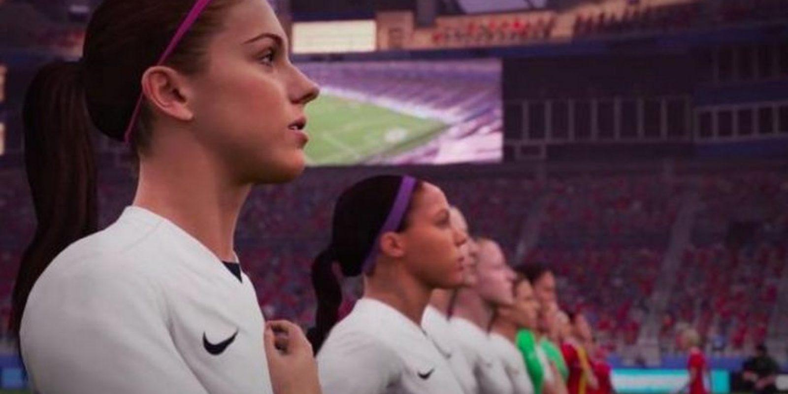 """Mujeres en el """"FIFA 16"""" Foto:EA Sports"""