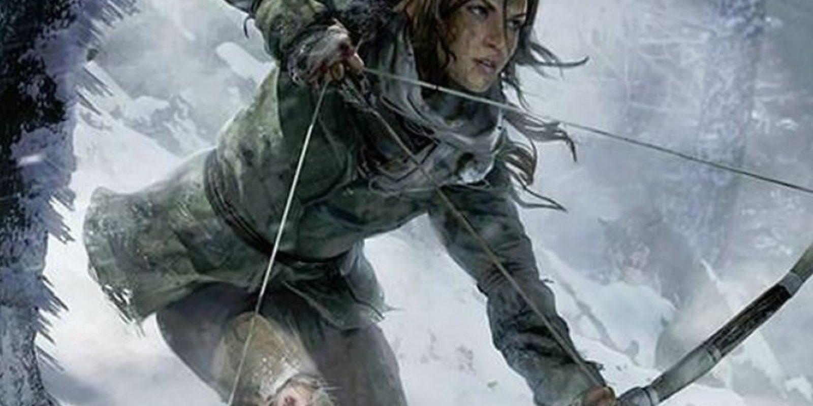 """Lara Croft"" de ""Rise of Tomb Raider"". Foto:Crystal Dynamics"