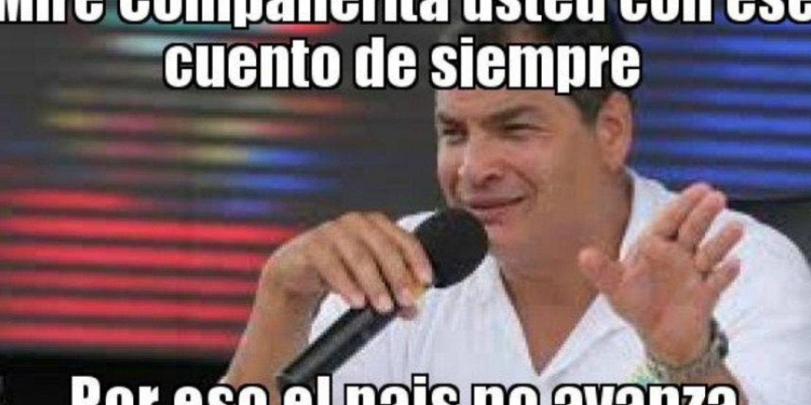 Rafael Correa, presidente de Ecuador Foto:Twitter-Archivo