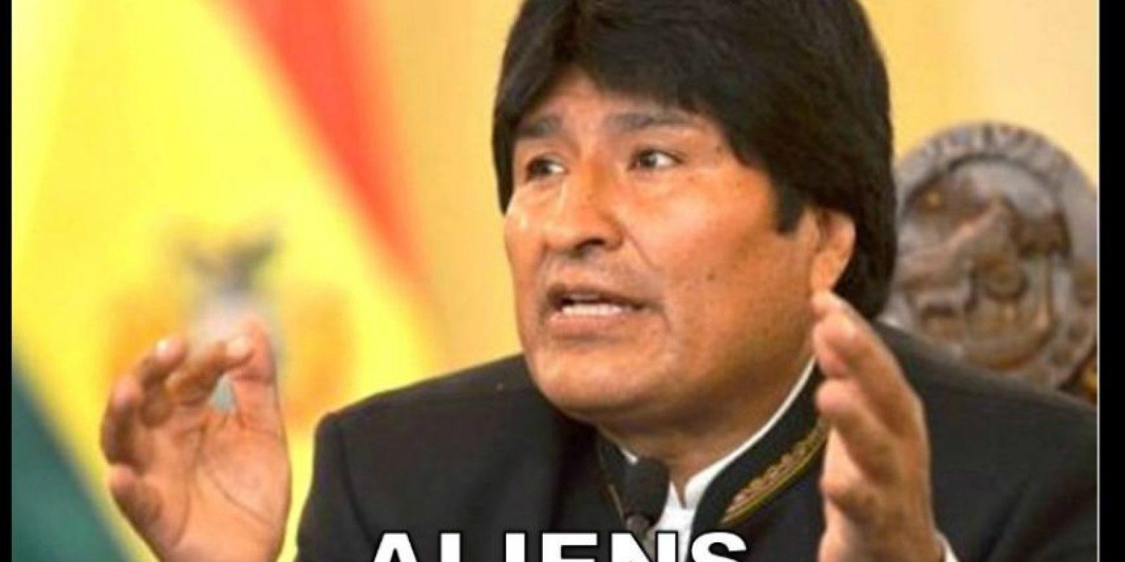Evo Morales, presidente de Bolivia Foto:Twitter-Archivo