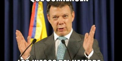 Juan Manuel Santos, presidente de Colombia Foto:Twitter-Archivo