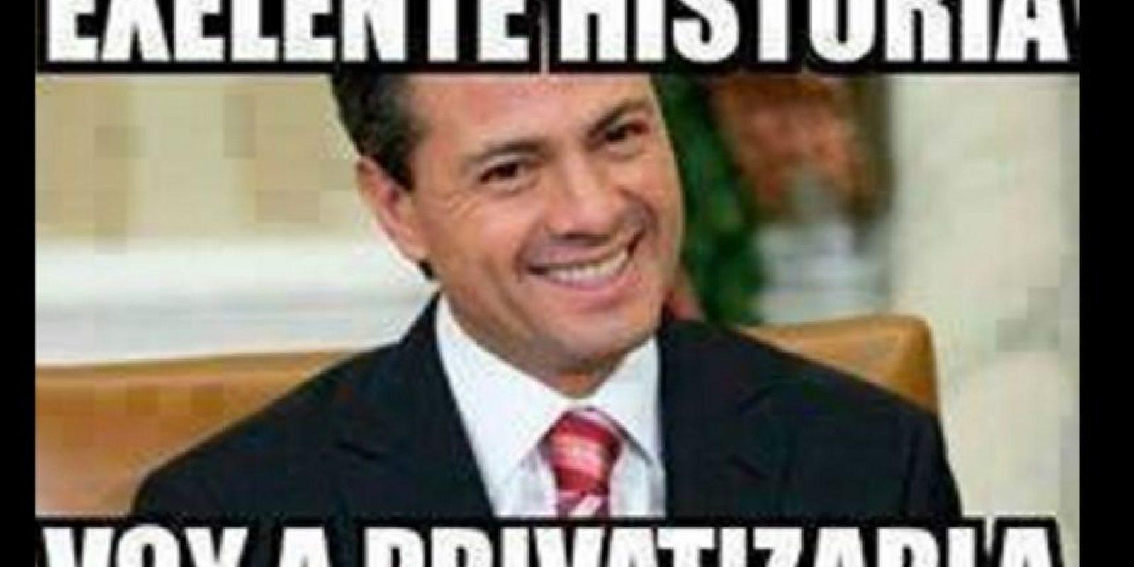 Enrique Peña Nieto, presidente de México Foto:Twitter-Archivo