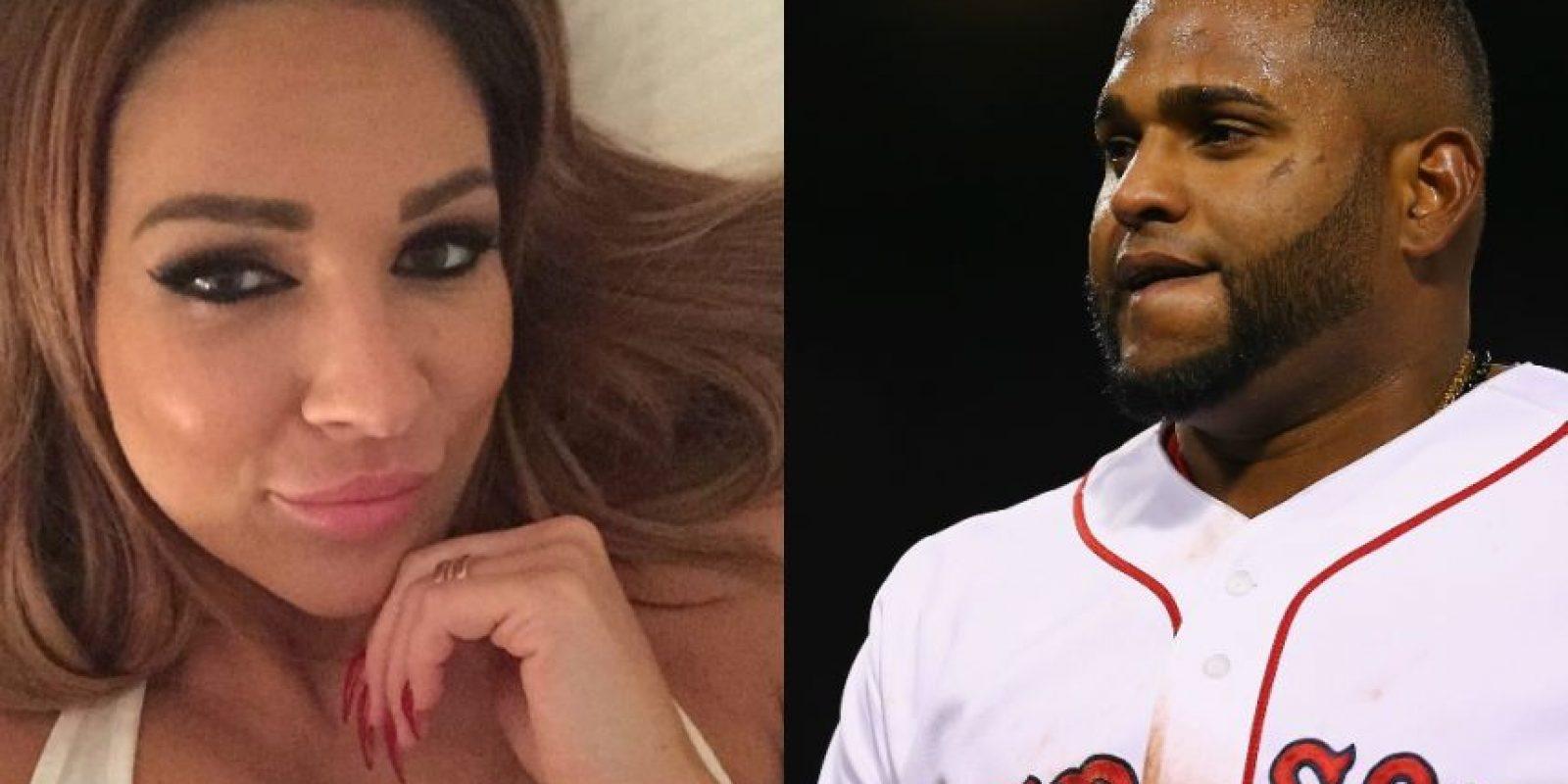 Pablo Sandoval, tercera base de los Boston Red Sox, fue sorprendido usando redes sociales en pleno partido. Foto:Vía instagram.com/instagram.com/diva_legacy // Getty Images